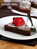 Chocolate chickpea cake