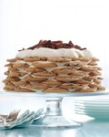 Chocolate-chip-cookie icebox cake