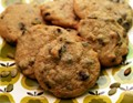 Chocolate chip pepita cookies