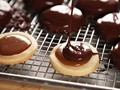 Chocolate-covered caramel-filled shortbread cookies (A.K.A. homemade Twix)