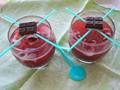 Chocolate pomegranate cocktail