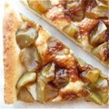 Cinnamon-apple flatbread