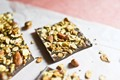 Cinnamon granola chocolate bars