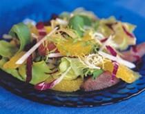 Citrus salad with champagne vinaigrette