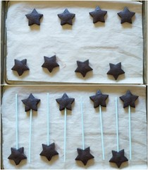 Cocoa frappuccino cut-out cookies