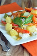 Coconut curry veggie stir fry
