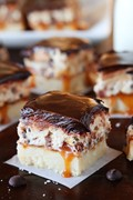 Cookie dough billionaire bars