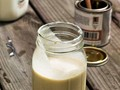 Cornbread sorghum milkshake (or, breakfast) [Bake the Book]