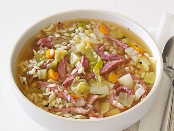 Corned beef and cabbage soup (page 88)