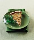 Crab and asparagus tart