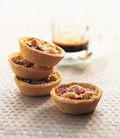 Cranberry and marzipan mince pies