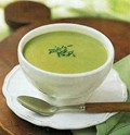 Cream of asparagus soup (Crème d'asperges)