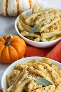 Creamy one-pot pumpkin pasta