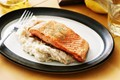 Crispy ocean trout with fennel & potato mash