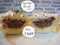 Cupcake-stuffed cupcakes (Cakespy)