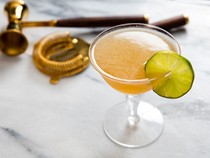 Daiquiri with Scotch and maple (Mr. Howell)