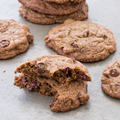 Dairy-free whole-grain chocolate chip cookies