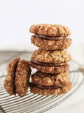 Date & strawberry oatmeal cookies