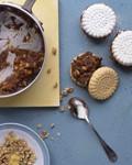 Date-and-walnut sandwich cookies