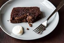 Dense chocolate loaf cake [Nigella Lawson]