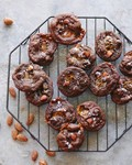 Double chocolate chip caramel cookies