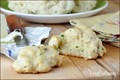 Drop buttermilk biscuits with chives