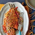Dry-braised sea bream