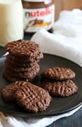 Easy 5-ingredient Nutella almond butter cookies