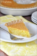 Easy lemon curd pie