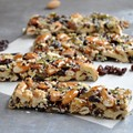 Easy nut and fruit bars