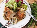 Easy pan-roasted chicken breasts with white wine and fines herbes pan sauce