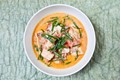 Easy tomato and coconut fish curry
