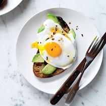 Egg & avocado toasts