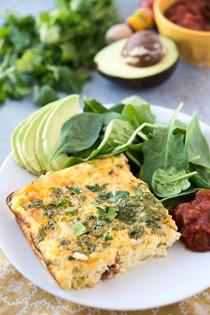 Egg and chorizo breakfast casserole