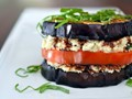 "Eggplant ""ricotta"" stacks from 'Nom Nom Paleo' (Cook the Book)"