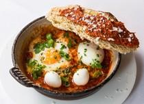 Eggs in purgatory (Uova al purgatorio)