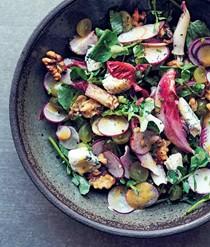 Endive salad  with Roquefort