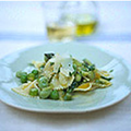 Farfalle with summer vegetable sauce