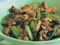 Farmhouse stir-fried pork with green peppers