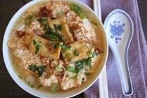 Faux Viet crab noodle soup