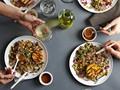 Fiery fruit & quinoa salad from 'Salad Samurai' (Cook the Book)