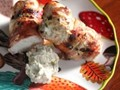 Fig-and Manchego-stuffed chicken breasts with Port wine pan sauce