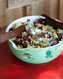 Fire-and-iceberg salad
