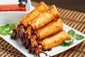 Firecracker shrimp with sweet chili sauce