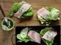 Fish wrapped in lettuce from 'The Beekman 1802 Heirloom Vegetable Cookbook' (Cook the Book)