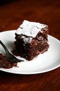 Flourless chocolate almond torte (Torta Caprese)