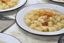 Four-way Parmesan gnocchi