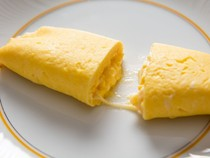French omelette with cheese