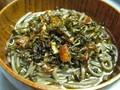 Fried green onion noodles (Cōngyóu miàn / 蔥油麵)