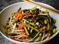 Fuchsia Dunlop's zhajiang noodles (Zha jiang mian) [Cook the Book]